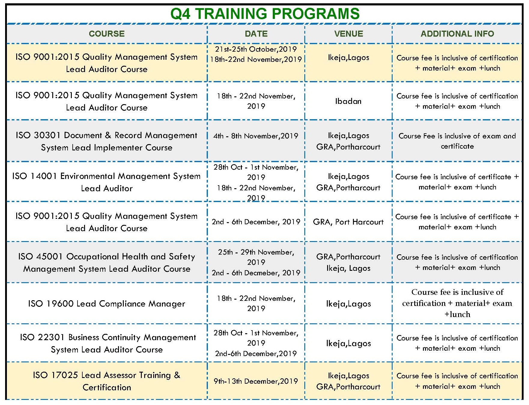 Copy of training schedule for pecb flyer Page 1
